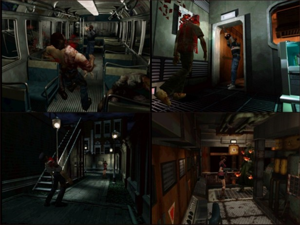 RE2 screenshots