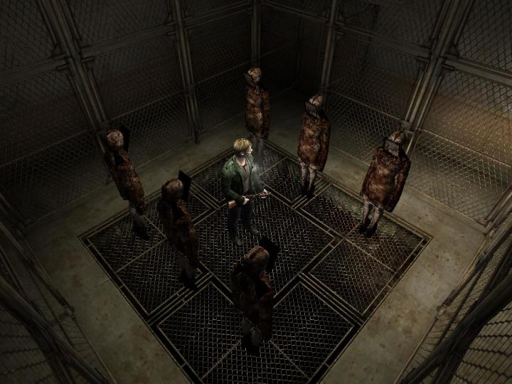 SH2 gameplay
