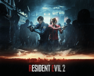 Resident Evil 2 Remake Cover Art